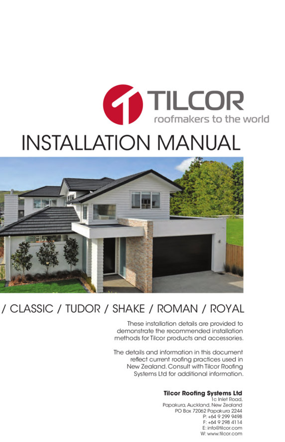 tilcor-instalacja-pdf