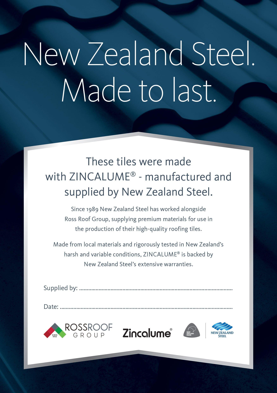 Dach-Blach-Zincalume-Supply-certificate